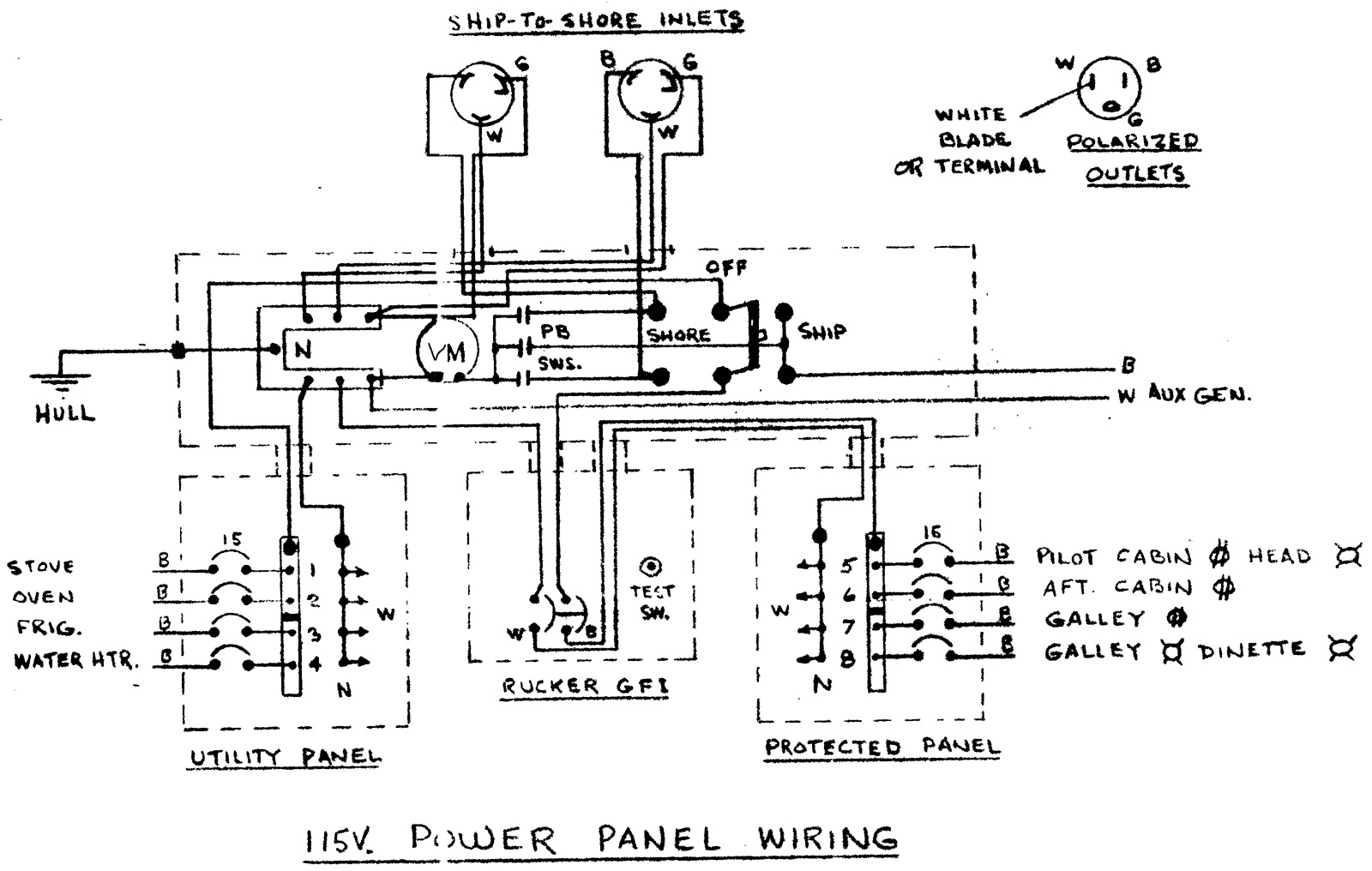 Power Boat Wiring Diagrams Design Photos Of